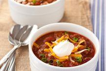 Perfect football food - chili