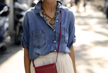 Style | Denim / Gorgeous denim looks