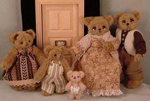 1:12 Scale Dollhouse Families