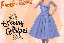 Fabulous Frock-tober Darlings!!! / by Dayen Dooley
