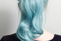 Pretty, cool, hair  / Lots of cool hair I would like to have mine look like