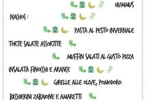 My Cooking Lessons/events / I know all of these producta are in Italian, if you need, i'll translate.