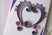 quilling for ocasions / paper cards
