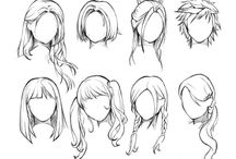 Refs - Hair