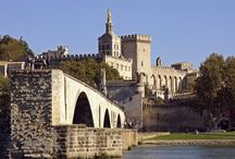 Avignon / Lively medieval town bursting with art and creativity, and centrally located for sightseeing in Provence. http://www.secretearth.com/destinations/505-avignon
