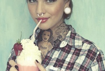 Why tattoos on pin up models?
