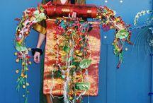Show floral par le CFA Commerce et services de Blagnac. / Show floral .Objectifs : Mise en avant de l'apprentissage et de l'établissement .