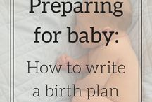 Birthing plan and hospital stay