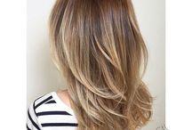 cortes de cabello mediano lacio en capas