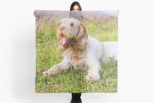 SCARVES - ITALIAN SPINONE / Large 140cm square. Full print is visible on the front and reverse. Microfiber polyester with a slightly transparent effect. Hand wash only. Do not dry clean or tumble dry.
