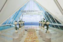 チャペル会場装花 / 大切なセレモニーを彩るとっておきのフラワーデコレーション。