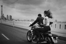 Cafe Racer Couple / Rares&Rebeca