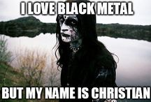Black metal with humor