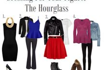 hourglass type outfits
