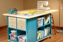 Craft Room & Storage Ideas / Ideas for keeping your copious amounts of supplies in order!