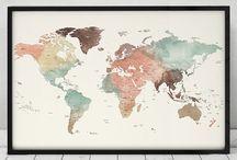 Carte Du Monde Avec Nom