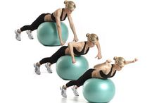 swiss ball shoulder exersises