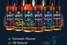 Yau's Gluten Free / Free from products in the Yau's range