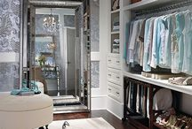 Inspiration till mitt dressingroom / Walkinclosets & dressingrooms