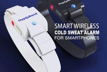 Hypoband / Hypoband is a wireless device that manages your diabetes while you sleep. Cold sweat due to hypoglycemia is life-threatening, but Hypoband detects it and alerts your caregivers to administer treatment.  Contact Us: sales@sibertasia.com