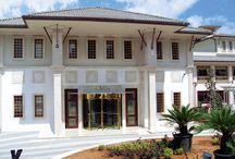 Kıbrıs Savoy Hotel / Mimari çizimleri, üretimi ve uygulaması 2D Yapı tarafından hazırlanan Kıbrıs Savoy Hotel dekoratif korkuluk ve kamelya çalışması...