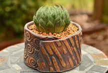 Keramika květináče truhliky
