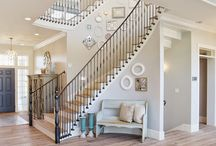 Light wood staircase