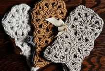 Create | Crochet Gloves, Mittens, Mitts, Wristlets / Fingerless gloves, mitts, wristwarmers