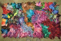 raggz fiber art / my own work / by Toni Ritchey