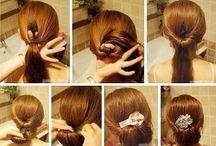 Peinados, uñas y maquillaje