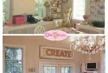 Craft Room / by Mindy Gantert Bell