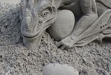 Just for fun - art, sand, wind, rain, flowers, clouds, abandoned structures, etc.