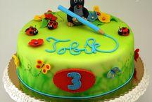 krtek cakes