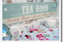 Vintage style tea room / by Betty and Violet