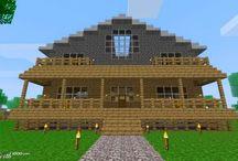 Cool mine craft houses