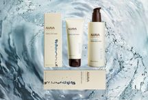 Dead Sea Water - AHAVA - Body Care / The waters of the Dead Sea are rich in skin healthy minerals that are essential in maintaining vital, supple, well hydrated body skin.