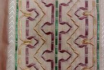 bordado de fita