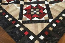 Quilts----Red and Black