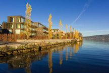 Peninsula Beach House, Switzerland / Peninsula Beach House in Zurich, Switzerland.  http://beach-house.ch/