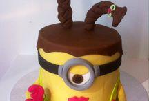Les minions / Gâteaux anniversaire les minions