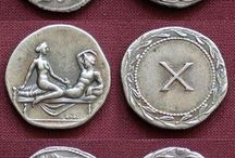 Roman coins for brother