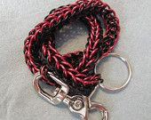 Click to view Hand Crafted-Biker-Wallet- Chains / Handmade  / by B.L. Embrey