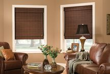 Bamboo Shades / Organic window treatments that look natural in any room.