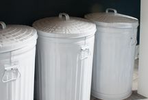 Laundry Room Recycling / Set up your laundry room for recycling. There are several items in a laundry room that can be recycled, such as dryer lint (organic waste recycling), detergent containers (household recycling) and leftover household cleaners (household hazardous waste recycling) / by Ramsey Recycles
