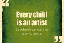 Artistic Quotes / by Schultz Design