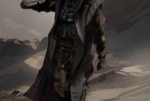 Character design: Sci-fi