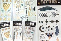 Flash Tattoo / La moda cambia y a medida que el tiempo pasa se reinventa, la moda esta vez nos trae consigo una nueva onda muy Cool. Se trata de los llamados Flash Tattoos.