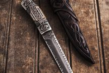 Handmade fixed knives by André Andersson / Custom fixed knives from Sweden