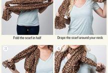 jak uvázat šátek