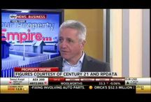 Property Market News / Charles Tarbey, Chairman and Owner of Century 21 Australasia appears weekly on Sky News Business' real estate show 'Your Property Empire' hosted by Chris Gray to discuss Australian property market news